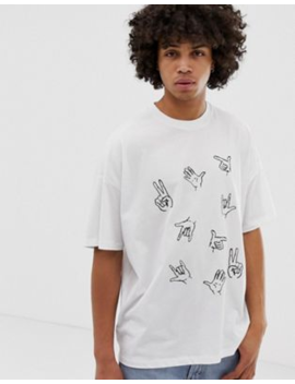 asos-design-oversized-t-shirt-with-hand-embroidery by asos-design