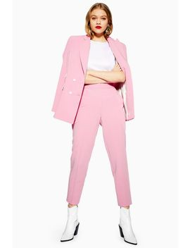 Petite  Pink Suit Trousers by Topshop