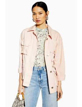 Pink Fisherman Shacket by Topshop