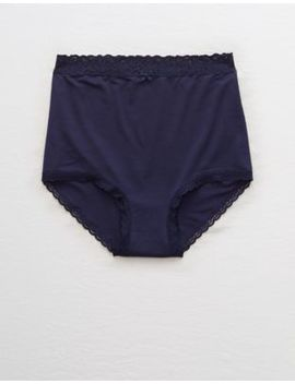 Aerie Real Soft® High Waisted Boybrief Undie by American Eagle Outfitters