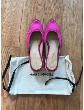 Womens Maryam Nassir Zadeh / Mari Giudicelli Leblon Mules Fuchsia Size 7.5 (38) by Mari Giudicelli