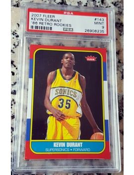 Shoptagr Kevin Durant 2007 Fleer 1986 Sp Rookie Card Rc