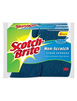 Scotch Brite Non Scratch Scrub Sponge, 6 Sponges by Scotch Brite