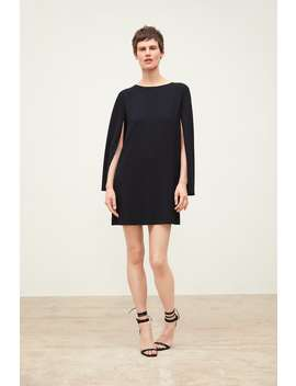 Dress With Cape Sleeves Mini Dresses Woman by Zara