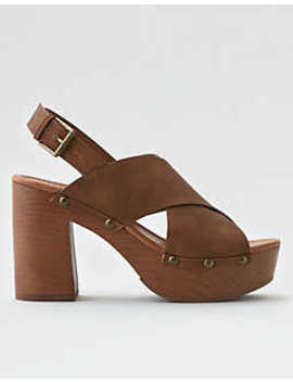 Aeo X Band Clog Heel by American Eagle Outfitters