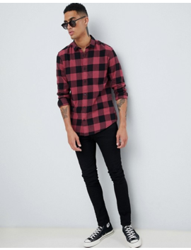 Only &Amp; Sons Regular Fit Check Shirt by Only & Sons