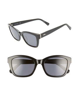 Heritage 53mm Polarized Square Sunglasses by Longchamp
