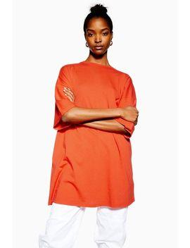 Nibble Boyfriend Longline T Shirt by Topshop