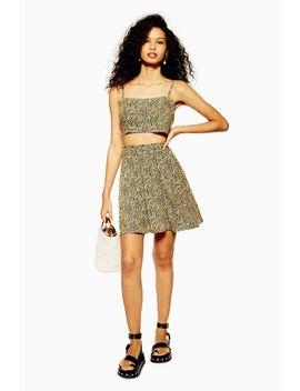 Tiger Print Mini Skirt by Topshop