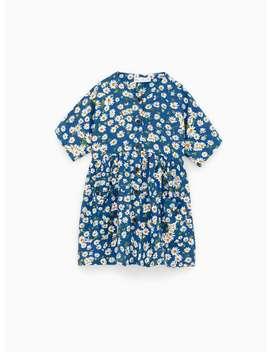 Jurk Met Bloemenprint Special Pricesmeisjes by Zara
