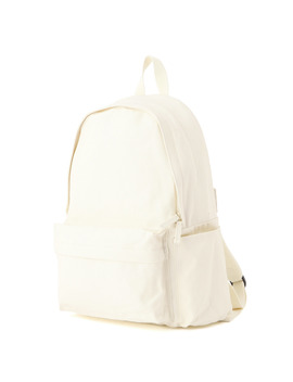water-repellent-organic-cotton-rucksack-with-side-zip-pc-pocket by muji