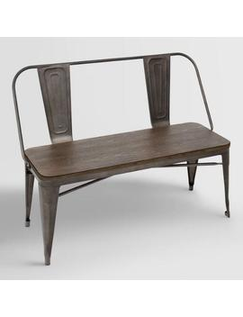 Espresso Arwen Dining Bench by World Market