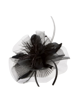 Feather Bouquet Fascinator Headband by Tasha