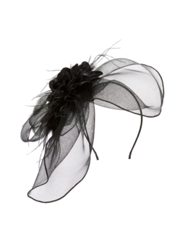 Flower & Feather Fascinator by Tasha