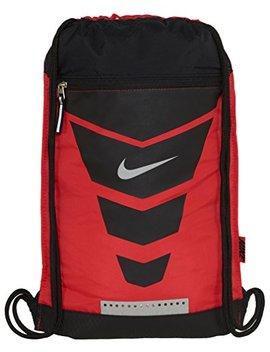 Nike Vapor Gymsack (Daring Red/Black//Metallic Silver) by Nike