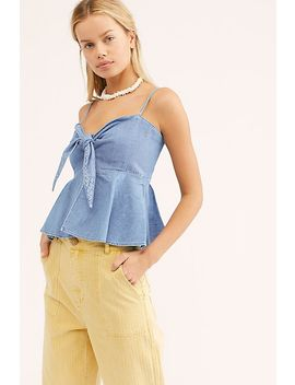 Levi's Made &Amp; Crafted Denim Senorita Top by Levi's Made & Crafted