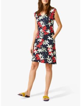 daca78a221 Shoptagr | White Stuff Fairtrade Lena Floral Dress, Green Print by ...
