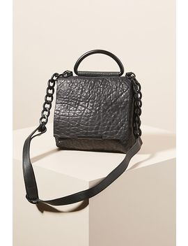 Nina Two Toned Leather Crossbody Bag by Daniella Lehavi