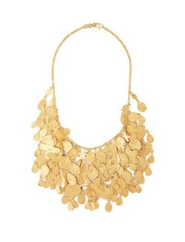 Sharifa 18kt Gold Plated Necklace by Pippa Small Turquoise Mountain