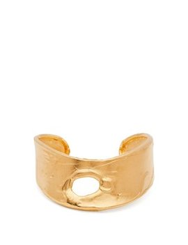 Echoes Of Africa Gold Plated Cuff by Alighieri