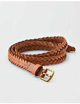 Aeo Braided Hip Belt by American Eagle Outfitters
