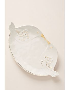 Lovebirds Platter by Anthropologie