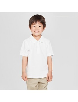 Toddler Boys' Short Sleeve Pique Polo Shirt   Cat &Amp; Jack by Cat & Jack