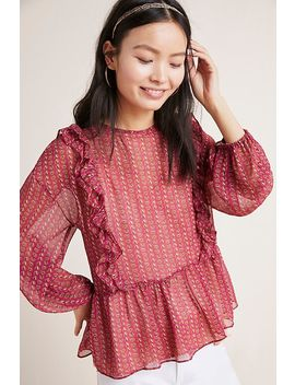 Campania Ruffled Blouse by Misa