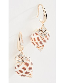 Shell Crystal Earrings by Anton Heunis