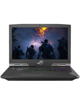 "Rog Chimera 17.3"" Gaming Laptop   Intel Core I7   16 Gb Memory   Nvidia Ge Force Gtx 1080   2 Tb Hdd + 256 Gb Ssd   Silver by Asus"