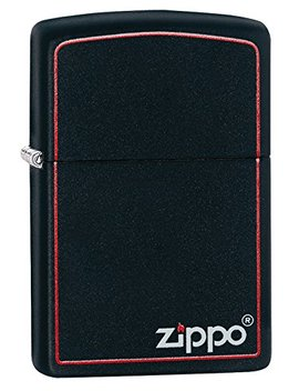 Zippo Classic Black And Red by Zippo