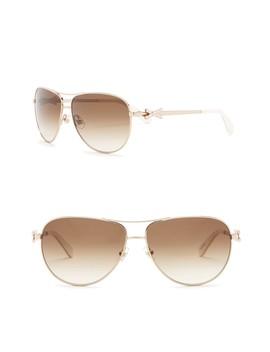 59mm Circe Aviator Sunglasses by Kate Spade New York