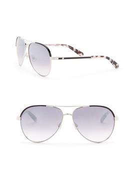 Amarissa 59mm Aviator Sunglasses by Kate Spade New York