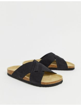 Pier One Cross Over Sandals In Black by Pier One