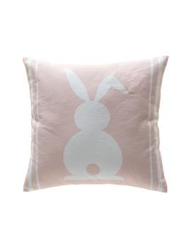 "Easter Bunny Pillow   16""X16"" by Peking Handicraft"