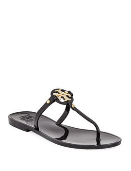 Mini Miller Flat Jelly Thong Sandals by Tory Burch