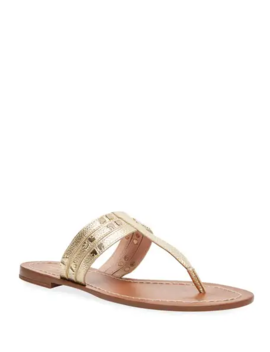 Carol Metallic Studded Sandals by Kate Spade New York