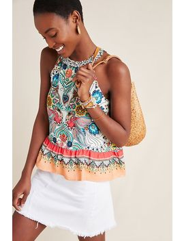 Farm Rio Cassandra Blouse by Farm Rio For Anthropologie