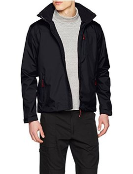 Helly Hansen Men's Crew Midlayer Fleece Lined Waterproof Windproof Breathable Sailing Rain Coat Jacket With Stowable Hood by Helly Hansen