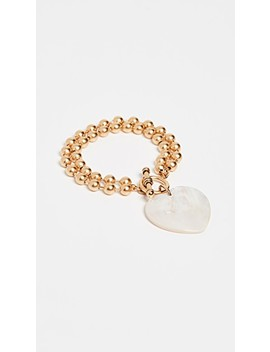 Heart On Your Sleeve Bracelet by Brinker &Amp; Eliza