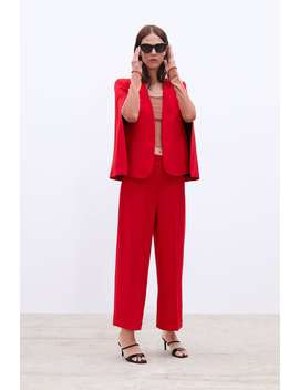 High Waisted Pants View All Pants Woman by Zara