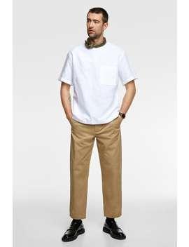 Linen T  Shirt View All Shirts Man by Zara