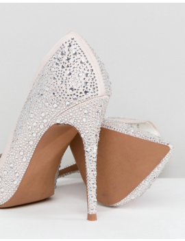 Asos Promise Embellished High Heels by Asos Collection