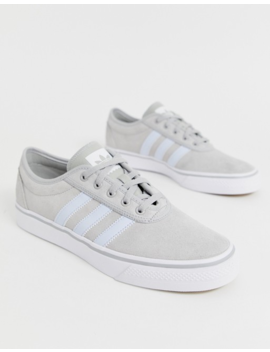 Adidas Skateboarding Adi Ease Sneakers In Gray by Adidas