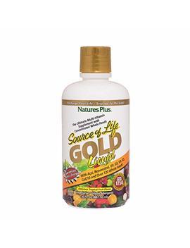 Nature's Plus   Source Of Life Gold Liquid   Tropical Fruit Flavor, 30 Fl. Oz. by Nature's Plus