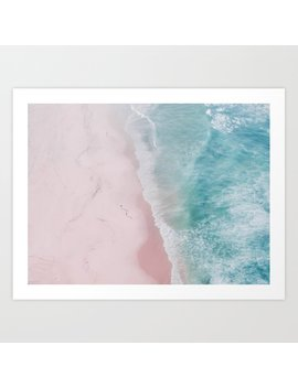 Ocean Walk Art Print by Society6