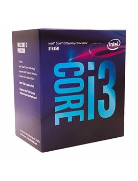 Intel Core I3 8100 3.6 G Hz 6 Mb Smart Cache Caja   Procesador (3,6 G Hz, Pc, 14 Nm, I3 8100, 8 Gt/S, 64 Bits) by Intel