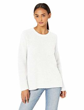 Michael Stars Women's Paige Scoop Neck Cotton Knit Sweater by Michael Stars
