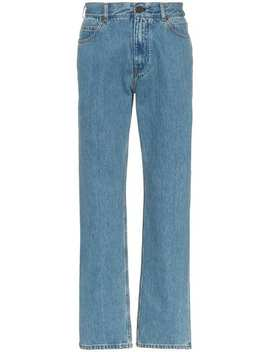 Jeans Taglio Straight Con Stampa by Calvin Klein 205 W39nyc