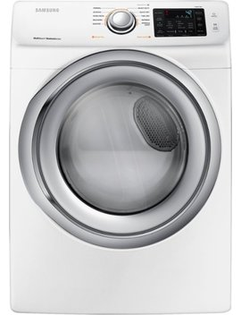7.5 Cu. Ft. 10 Cycle Electric Dryer With Steam   White by Samsung